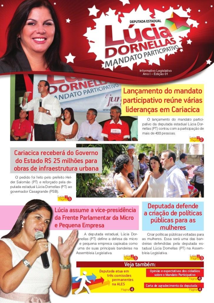 Informativo Legislativo                                                                                         Ano I • Ed...