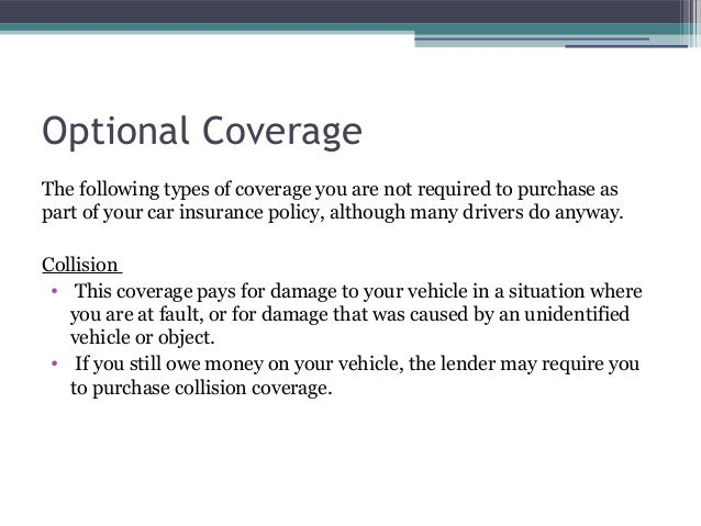 Hit And Run Car Insurance Coverage