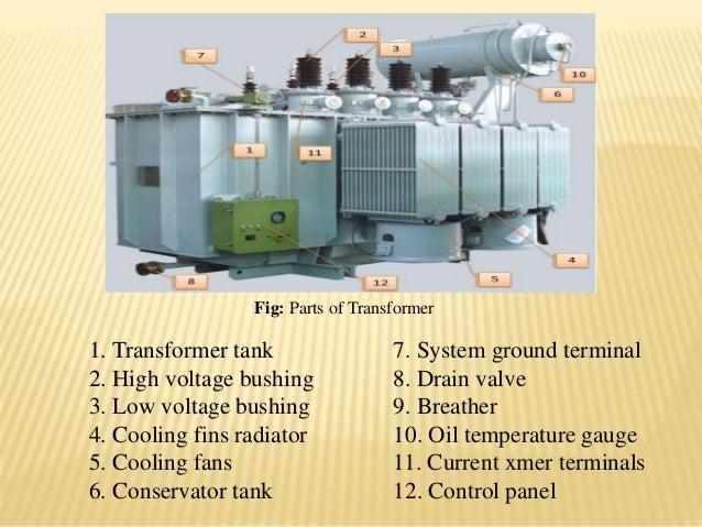 Summer Traning On Power Transformer Construction