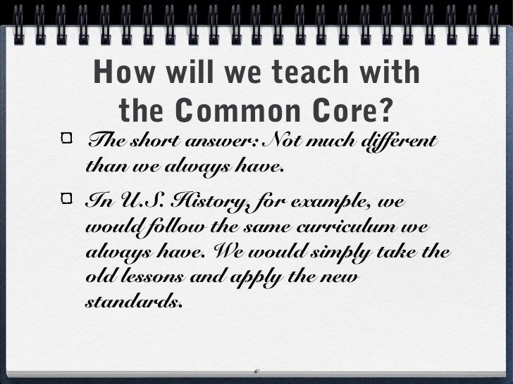 Sample Common Core Lesson Plan | Common Core Lesson Planning