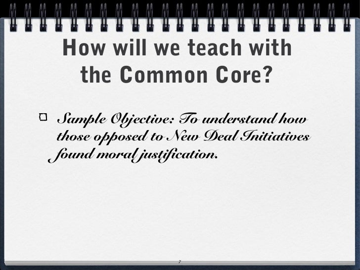 Common Core lesson planning – Sample Common Core Lesson Plan