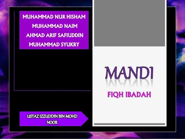 MUHAMMAD NUR HISHAM  MUHAMMAD NAIM  AHMAD ARIF SAFIUDDIN  MUHAMMAD SYUKRY