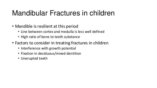 Fracture of Edentulous mandible • Influencing factors: 1. Decreased inferior alveolar artery (centrifugal) blood flow 2. D...