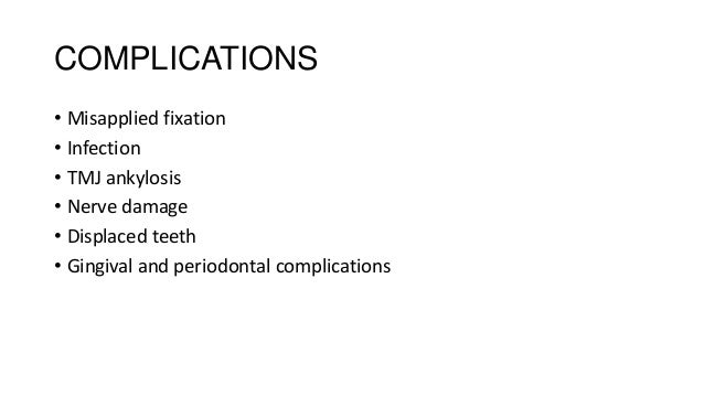 • Malunion • Delayed union/Non union • Inadequate immobilization, fracture alignment • Interposition of soft tissue or for...