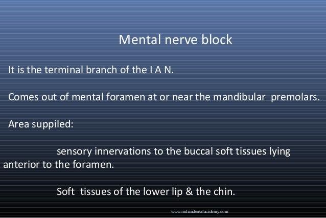 complications of inferior alveolar nerve block pdf