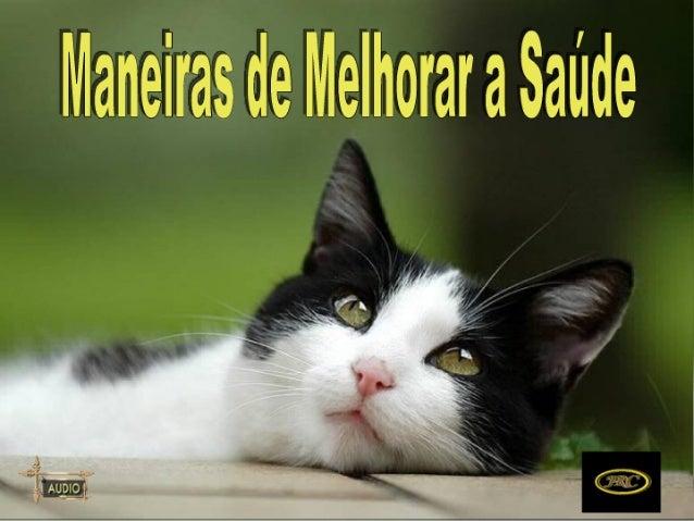 MANEIRAS DE MELHORAR A SAÚDE