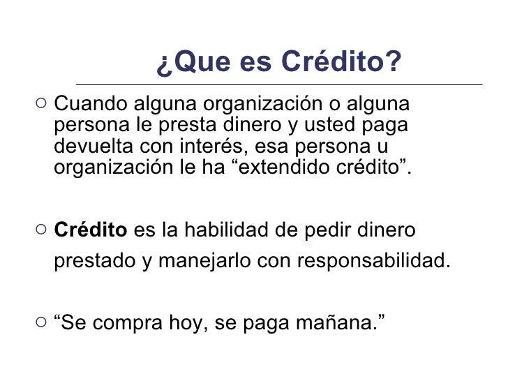 credito es