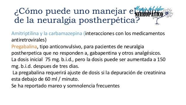 neuralgia postherpetica pregabalina 25