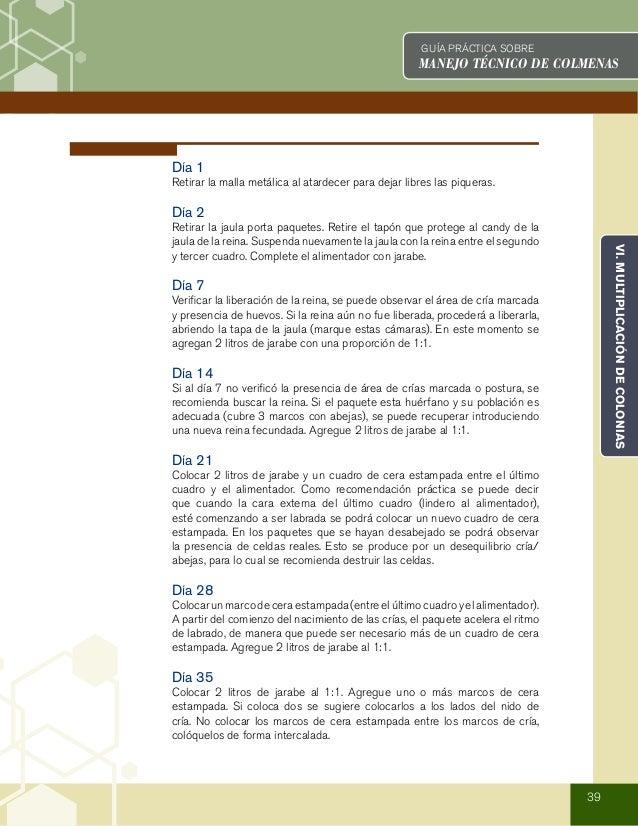 Manejocolmenas 130813165004-phpapp02