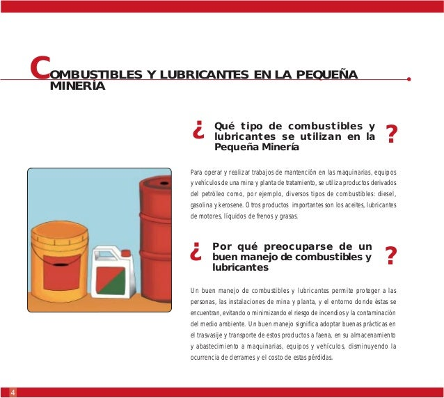 Manejo combustibles lubricantes for Antorchas para jardin combustible