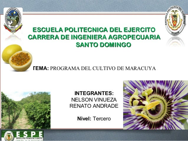 ESCUELA POLITECNICA DEL EJERCITOESCUELA POLITECNICA DEL EJERCITO CARRERA DE INGENIERA AGROPECUARIACARRERA DE INGENIERA AGR...