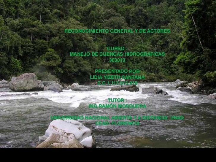 RECONOCIMIENTO GENERAL Y DE ACTORES                     CURSO :   TAREA DE RECONOCIMIENTO GENERAL Y DE ACTORES       MANEJ...