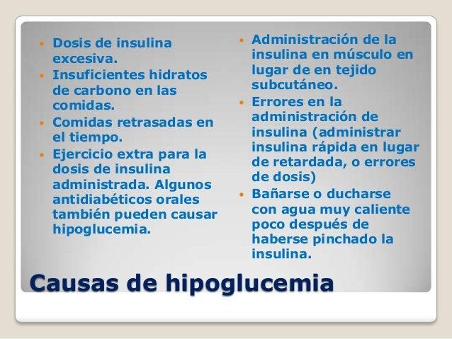 diabetes síntomas hipoglucemia hiperglucemia