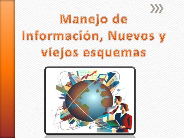 » Es la recolección y el manejo de la  información de uno o más fuentes y la  distribución de esa información a uno o  más...