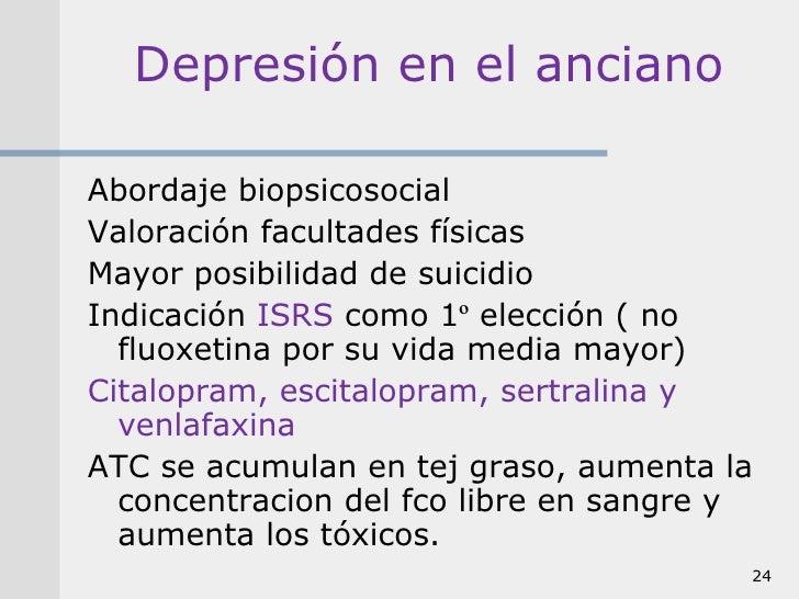 Manejo de la depresion en atencion primaria