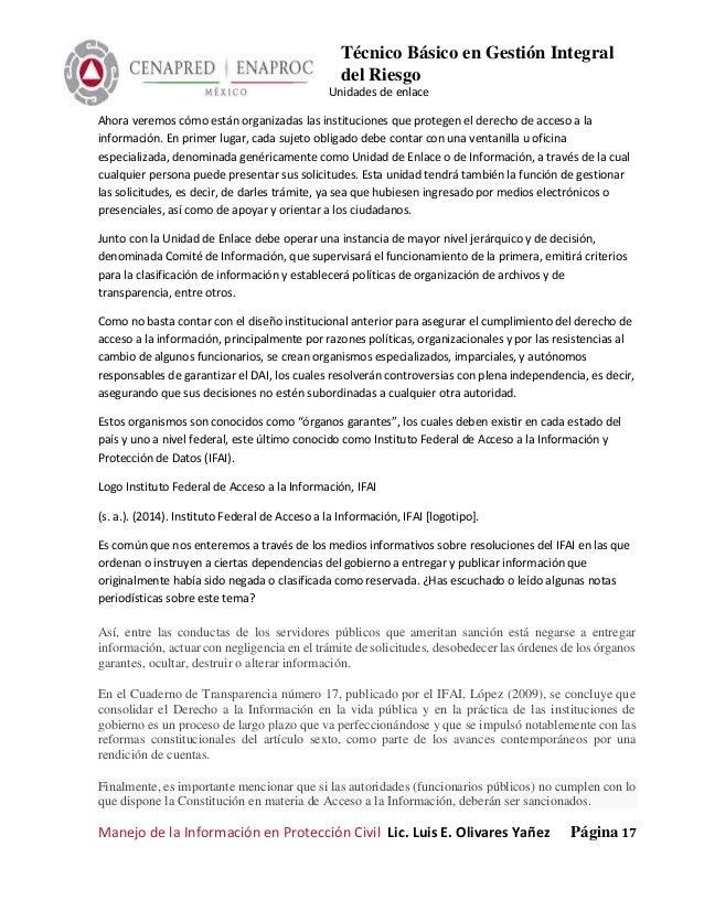 proteccion civil y administracion de desastres pdf