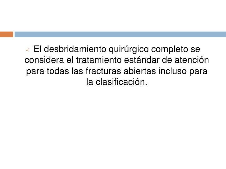 INDICACIONES QUIRURGICAS DE LAS FRACTURAS<br />Fracturas diafisiarias bilaterales de húmero y tibia.<br />