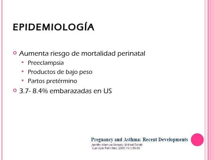 Manejo del asma en el embarazo Slide 3