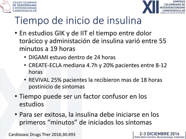 Dosis de insulina como VD • Entre los múltiples estudios variaron las dosis • Desde 0.2mUI/Kg/min hasta 2.3mUI/Kg/min • Ex...