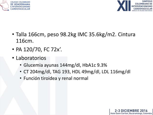 Manejo de diabetes en el paciente coronario Dra. Lina P Pradilla S MD internista – endocrinóloga Profesora Departamento de...