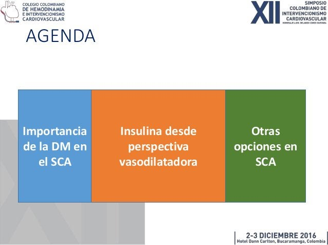 Identificación del paciente DM con SCA • 20-30% población europea DM • Misma proporción de sujetos NO diagnósticados • May...