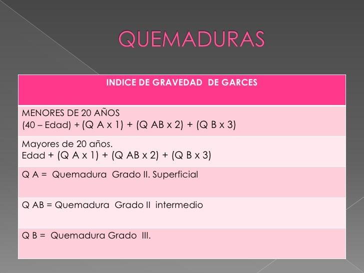 QUEMADURA GRADO IV.<br />