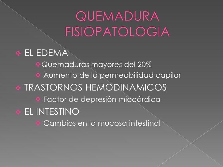 QUEMADURAS <br />