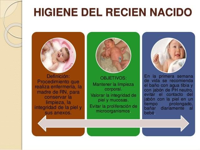 Manejo del recién nacido sano cuidados de enfermería