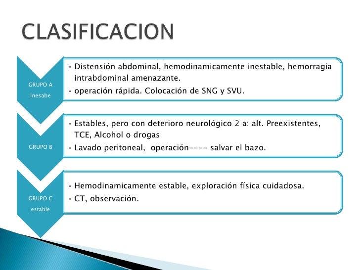 CLASIFICACION<br />