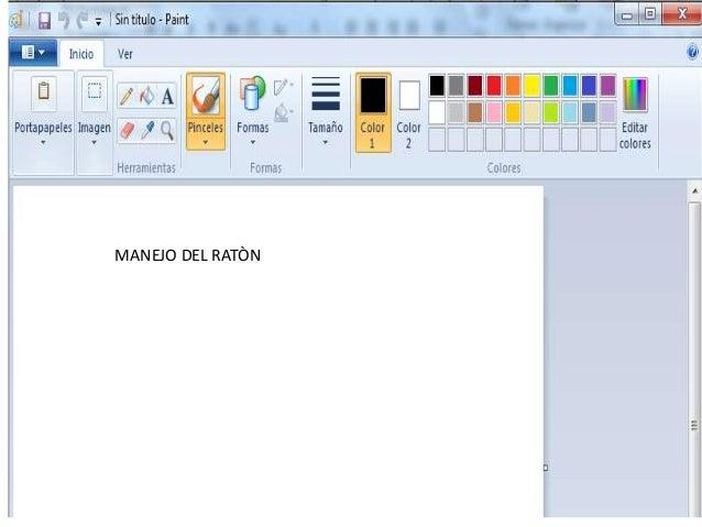 MANEJO DE MOUSE MANEJO DEL RATÒN