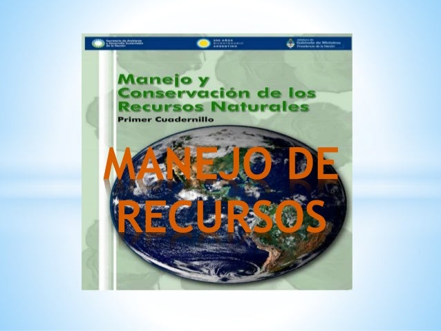 MANEJO DE RECURSOS