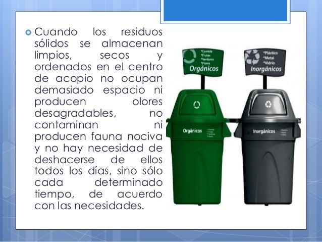 En el Perú existe una norma que codifica a los colores a utilizar en los botes de basura