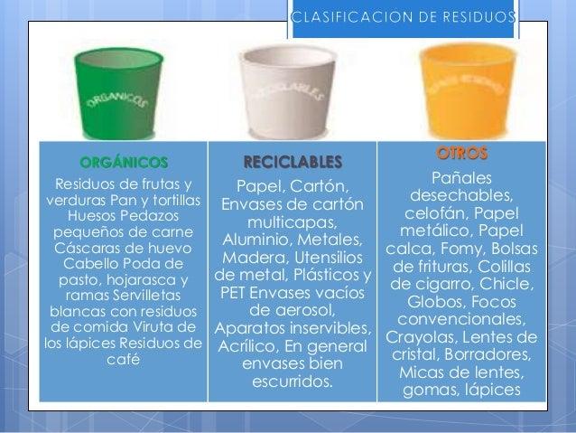 Etapa 1: Diagnóstico  Identificar los principales problemas de la gestión de residuos en la institución, sus respectivas ...