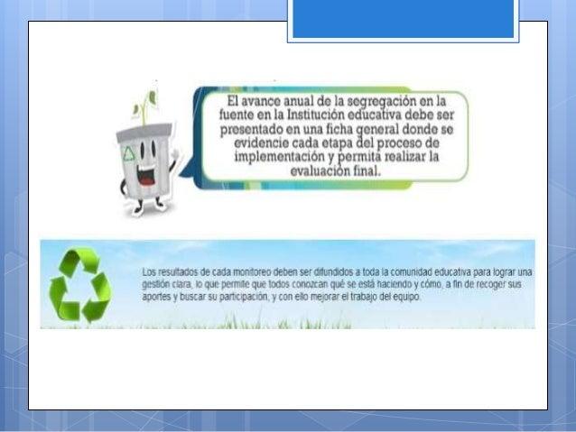 Manejo de residuos sólidos escolares
