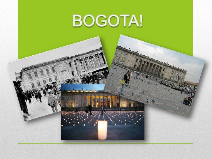 Bogota in the last 20 years feel a different choices in theenvironment of culture, public transports, security,education, ...