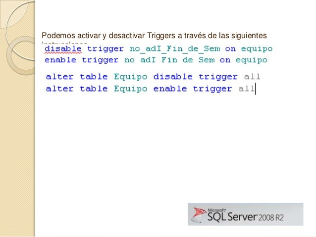 sql triggers What exactly is a trigger in sql server we cover this and show you how to find this hidden code in your database.