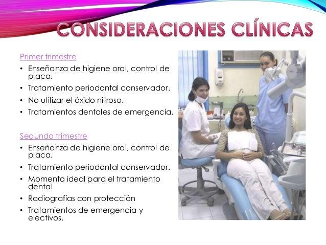 46ef56929 Manejo odontologico de la mujer embarazada