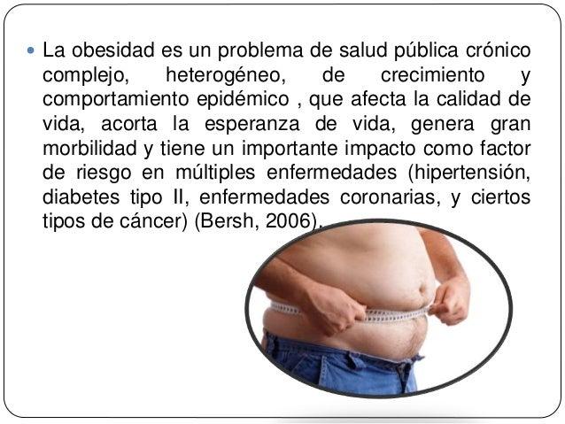 Manejo y control de la obesidad