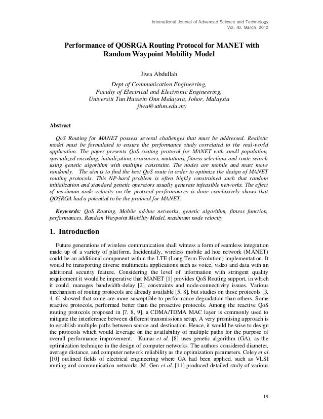 International Journal of Advanced Science and Technology                                                                  ...