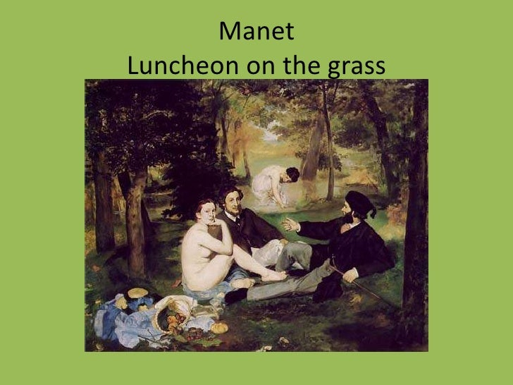 manet monet comparison essay example For example, manet based olympia's composition on the venus of urbino,  the shock of the nude: manet's olympia is written and produced by richard p rogers.