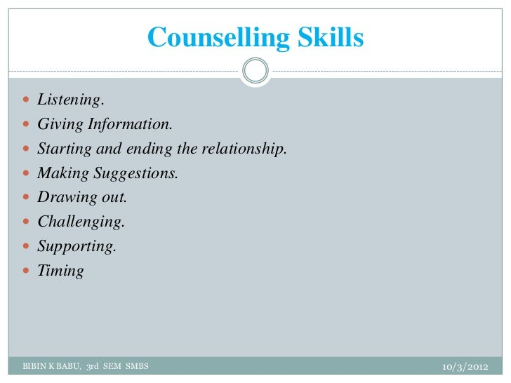 counselling skills Learn challenging skills, which are used by counselors to enhance client awareness.