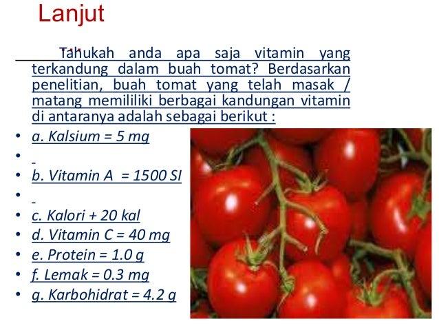 tomat vitamin