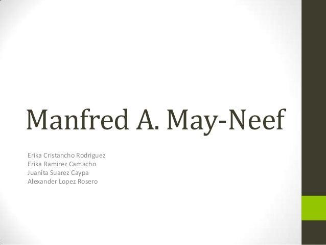 Manfred A. May-NeefErika Cristancho RodriguezErika Ramirez CamachoJuanita Suarez CaypaAlexander Lopez Rosero