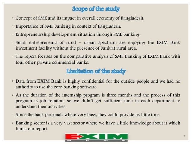 internship report in exim bank in bangladesh Some internship reports which have been prepared on banking sector  export  import bank of bangladesh limited is a big-size commercial bank of bangladesh.