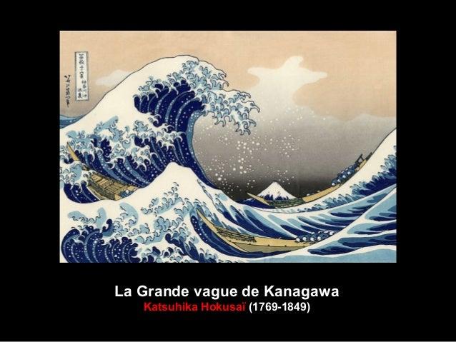 La Grande vague de Kanagawa Katsuhika Hokusaï (1769-1849)