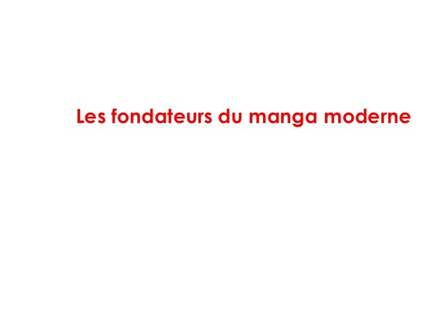 Les fondateurs du manga moderne