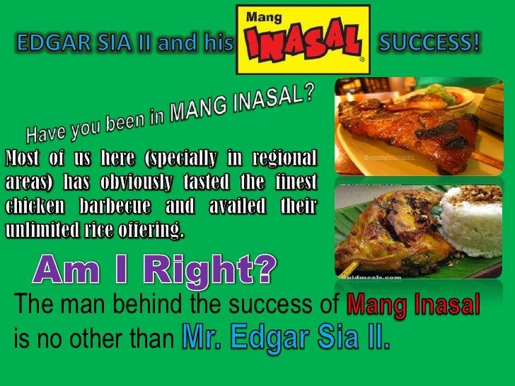 Mang Inasal SWOT Analysis