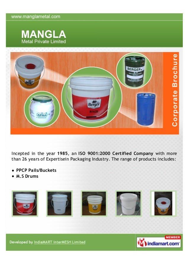 Incepted in the year 1985, an ISO 9001:2000 Certified Company with morethan 26 years of Expertisein Packaging Industry. Th...