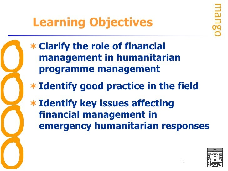LSTM – DHA 2009Financial Management in Emergencies<br />With:<br />Sareta Thomas<br />Mango<br />