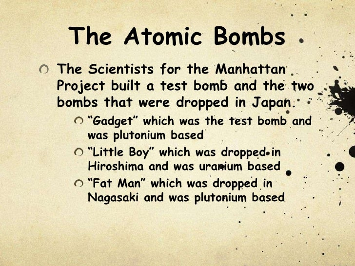 manhattan project atomic bomb The manhattan project: making the atomic bomb is a short history of the origins and development of the american atomic bomb program during world war ii.
